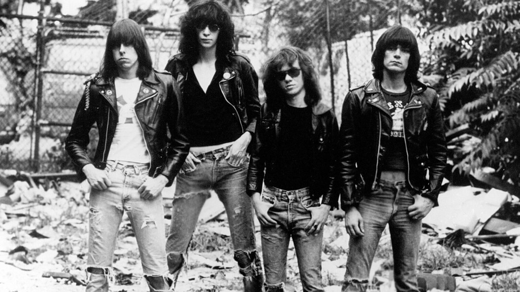 The Ramones Shown: Johnny Ramone, Joey Ramone, Tommy Ramone, Dee Dee Ramone Supplied by WENN This is a PR photo. WENN does not claim any Copyright or License in the attached material. Fees charged by WENN are for WENN's services only, and do not, nor are they intended to, convey to the user any ownership of Copyright or License in the material. By publishing this material, the user expressly agrees to indemnify and to hold WENN harmless from any claims, demands, or causes of action arising out of or connected in any way with user's publication of the material. Featuring: The Ramones When: 14 May 1977 ****